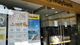 Maybank branch in Singapore