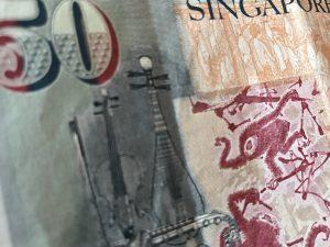 Singapore 50-dollar bill