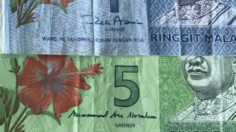 Malaysia ringgit notes