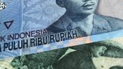 Indonesian rupiah notes