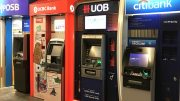 POSB, OCBC, UOB and Citibank ATMs in Singapore.