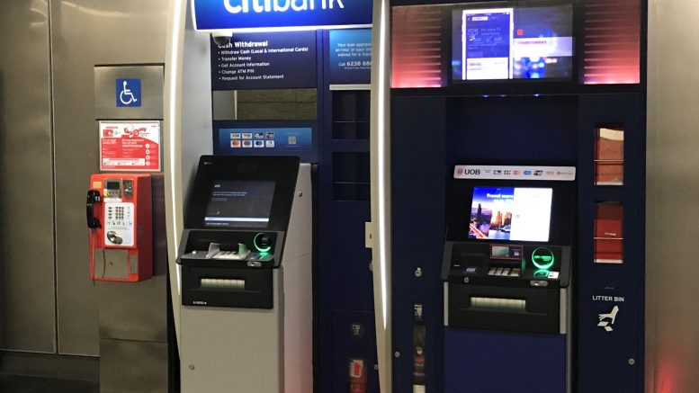 Citibank and UOB ATMs