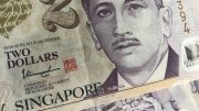 Singapore two-dollar bills