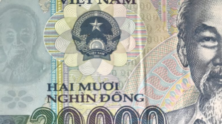 Vietnamese 20,000 dong note