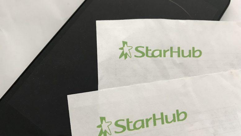 StarHub bill