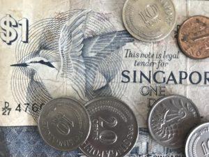 Singapore one-dollar bill