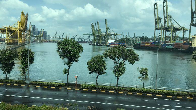 Singapore's port