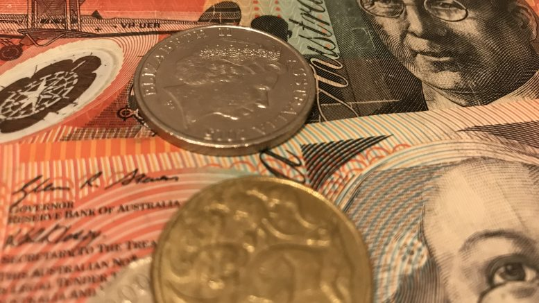 Australian notes and coins