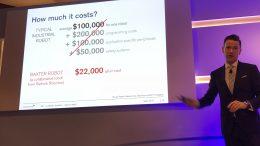 Credit Suisse Robotics manager Angus Muirhead