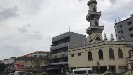 Mosque in Singapore's Geylang neighbourhood