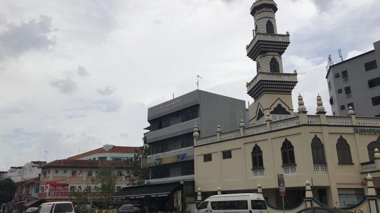 Mosque in Singapore's Geylang neighbourhood