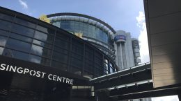 Singpost Centre at Paya Lebar MRT in Singapore