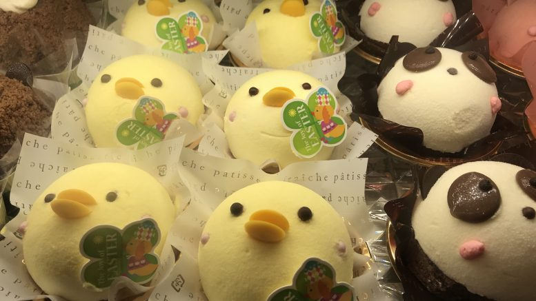 Easter-themed pastries