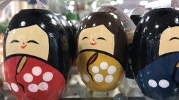 Japanese-style dolls