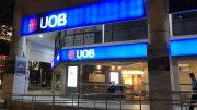 Singapore UOB bank branch