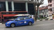 ComfortDelGro taxi in Singapore