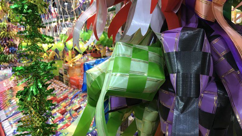 Hari Raya bazaar in Geylang, Singapore