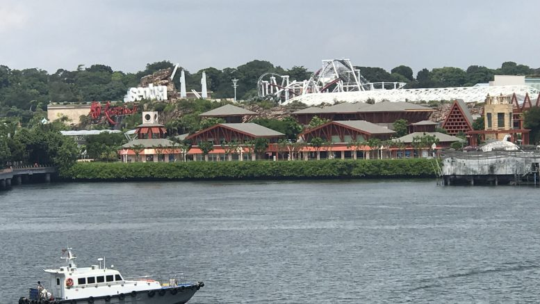 Genting Singapore's Resorts World Sentosa; taken 2018