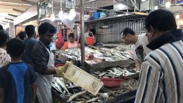 Little India Tekka Wet Market in Singapore; taken July 2018.