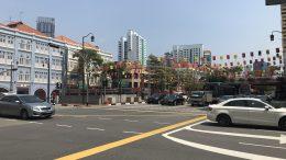 Singapore street scene in Chinatown; taken September 2018.