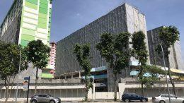 Singapore Housing and Development Board (HDB), or public housing, flats in Bugis neighborhood slated for demolition; taken September 2018.