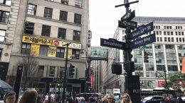 Korea Town in New York City; taken August 2018.
