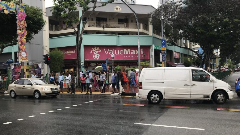 ValueMax outlet in Singapore's Little India neighborhood; taken October 2018.