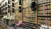Retail jewelery shop in Singapore's Little India neighborhood; taken October 2018.