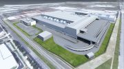 An artist's rendering of the planned Dyson auto manufacturing facility in Singapore; used with permission from Dyson.