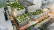 An artist's impression of how Funan Mall will look once completed; used with permission from CapitaLand.
