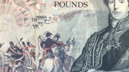 Vintage U.K. five pound note
