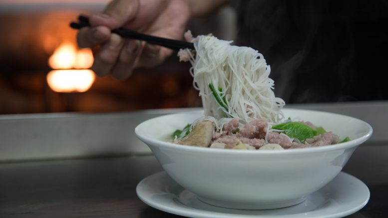 "Myanmar restaurant chain YKKO's ""Kyay-Oh"" rice noodle dish. In February 2019, Yoma Strategic agreed to acquire a 65 percent stake in YKKO. Credit: Yoma F&B"