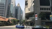 City Developments building in Singapore's central business district