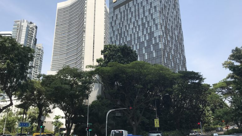 Pan Pacific Hotel in Singapore