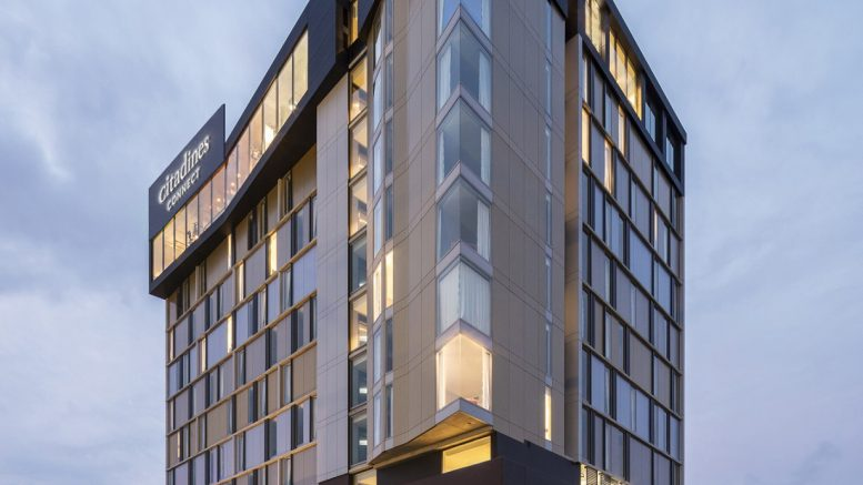 The Felix Hotel in Sydney, acquired by Ascott Residence Trust, to be operated under the Citadines Connect brand. Credit: Ascott Residence Trust