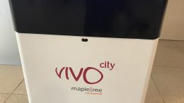 Signage at Mapletree Commercial Trust's VivoCity mall
