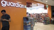 Outlet of Guardian, which is owned by Dairy Farm, at Kinex mall in Singapore