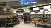 Outlet of Cold Storage supermarket, which is owned by Dairy Farm, at Kinex mall in Singapore