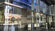 SGX building on Shenton Way in Singapore