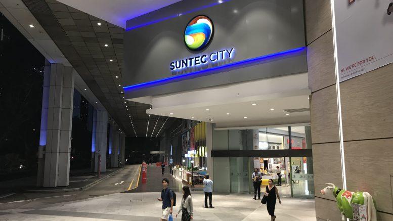 Suntec City mall in Singapore