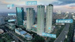 The layout of St Moritz Jakarta Integrated Development in West Jakarta. Source: LMIR Trust