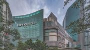Lippo Mall Puri, part of the St Moritz Jakarta Integrated Development located in West Jakarta. Lippo Malls Indonesia Retail Trust, or LMIR Trust, agreed to aquire the mall in March 2019. Credit: LMIR Trust