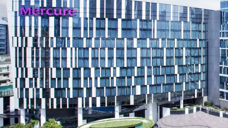 The Mercure Hotel at Stevens Road, Singapore. Credit: Oxley Holdings