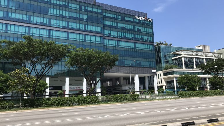 Mapletree Industrial Trust property at 18 Tai Seng in Singapore
