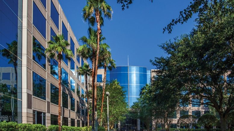 Keppel-KBS US REIT's Maitland Promenade I in Orlando, Florida. Source: the company.