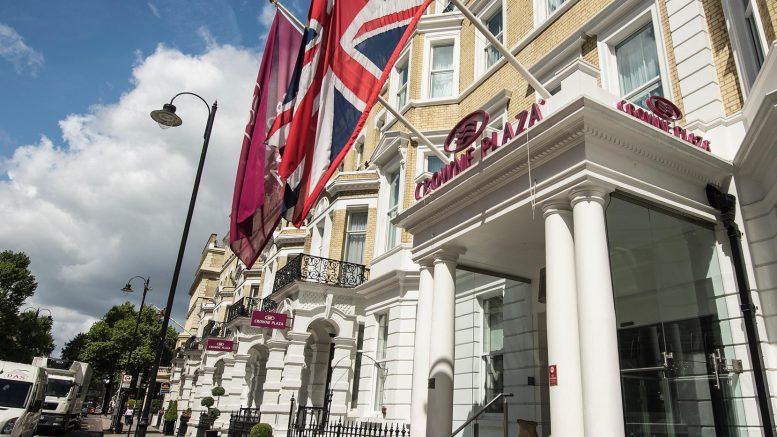 Crowne Plaza London - Kensington Hotel. Source: IHG