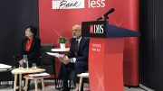 DBS CEO Piyush Gupta and CFO Chng Sok Hu