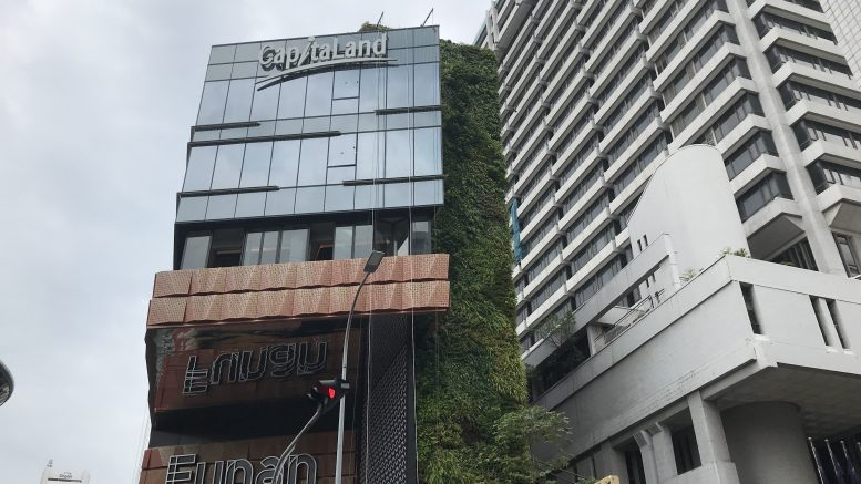 CapitaLand's Funan mall in Singapore