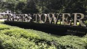 Sign at Frasers Tower, owned by Frasers Property