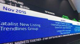 Ticker at Singapore Exchange (SGX)